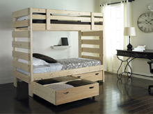 Custom Solid Wood Bunk Beds Locally Made 1800bunkbed